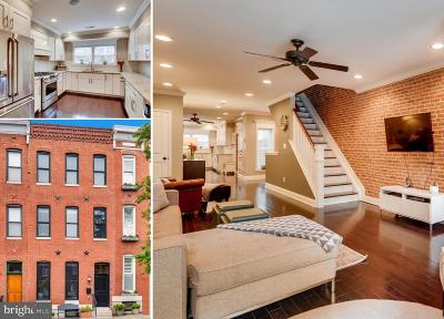 Federal Hill, Federal Hill - Riverside, Federal Hill South Townhouse For Sale: 1277 Battery Avenue