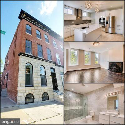 Baltimore Townhouse For Sale: 2400 E Baltimore Street