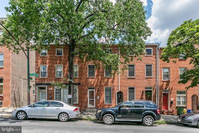 Canton Townhouse For Sale: 511 S Patterson Park Avenue