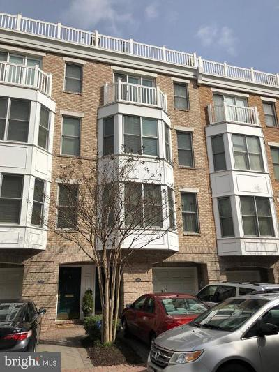Baltimore Townhouse For Sale: 1208 Harbor Island Walk