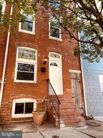 Baltimore Townhouse For Sale: 419 S Collington Avenue