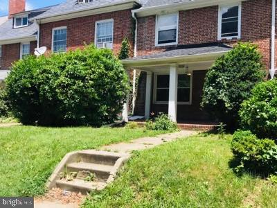 Baltimore City Rental For Rent: 228 E University Parkway