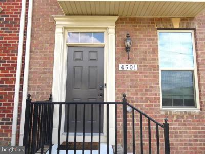 Baltimore City Rental For Rent: 4501 Fait Avenue