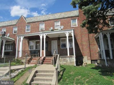 Central Park Heights Townhouse For Sale: 4843 Reisterstown Road