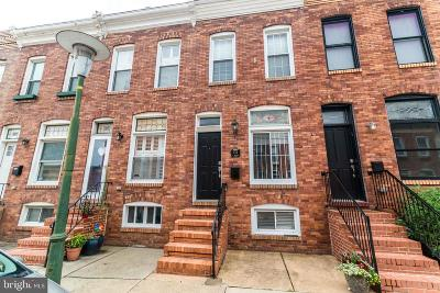 Canton Townhouse For Sale: 814 S Belnord Avenue