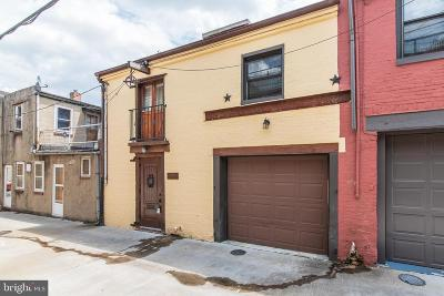 Fells Point Townhouse For Sale: 202 1/2 S Castle Street