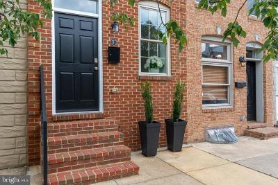 Baltimore City Townhouse For Sale: 517 S Milton Avenue