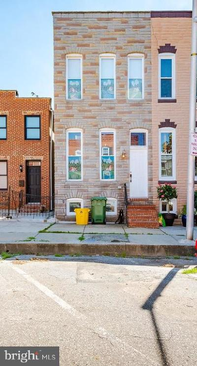 Baltimore Townhouse For Sale: 833 S Kenwood Avenue
