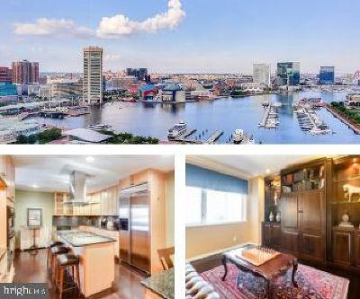 Baltimore Condo For Sale: 10 E Lee Street #1802