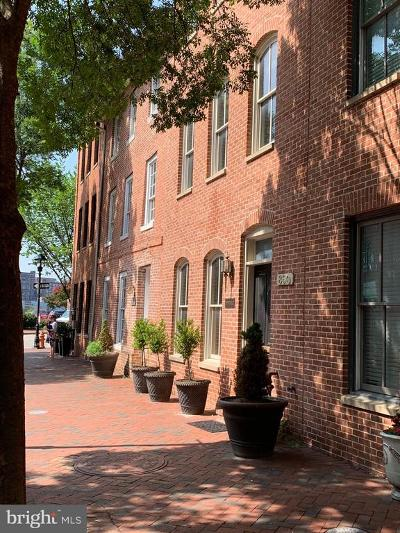Fells Point Townhouse For Sale: 852 S Bond Street