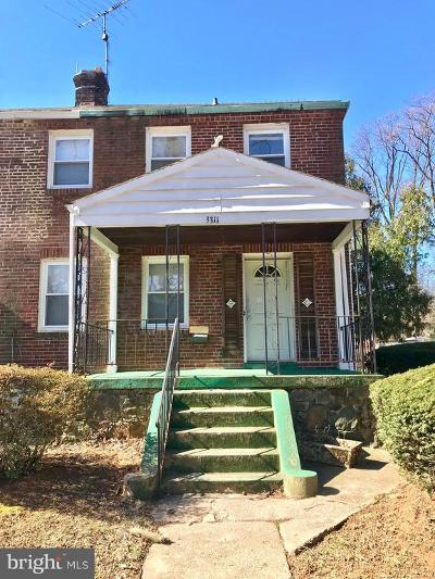 Baltimore Single Family Home For Sale: 3311 Dolfield Avenue