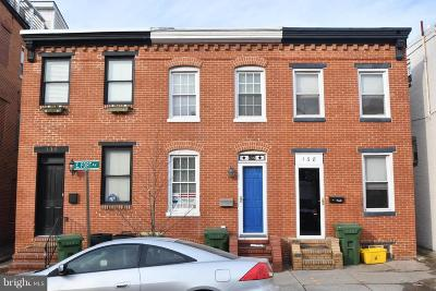 Baltimore Townhouse For Sale: 136 E Fort Avenue