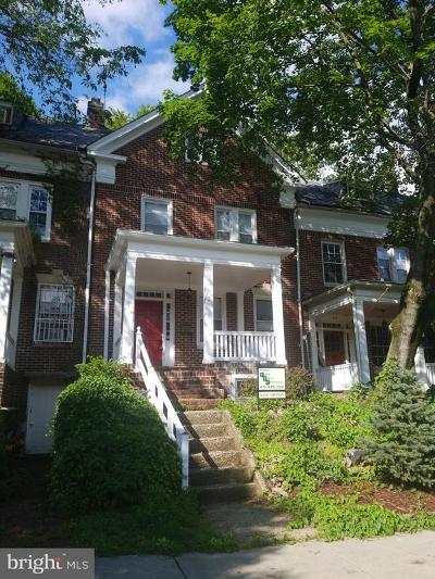 Baltimore City Townhouse For Sale: 324 E University Parkway