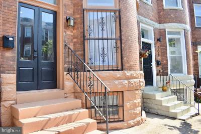 Baltimore Townhouse For Sale: 808 Newington Avenue
