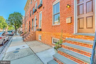 Baltimore Townhouse For Sale: 1523 William Street