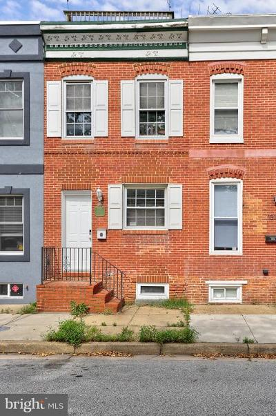 Baltimore Townhouse For Sale: 1314 S Highland Avenue