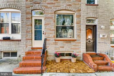 Canton Townhouse For Sale: 805 S Port Street