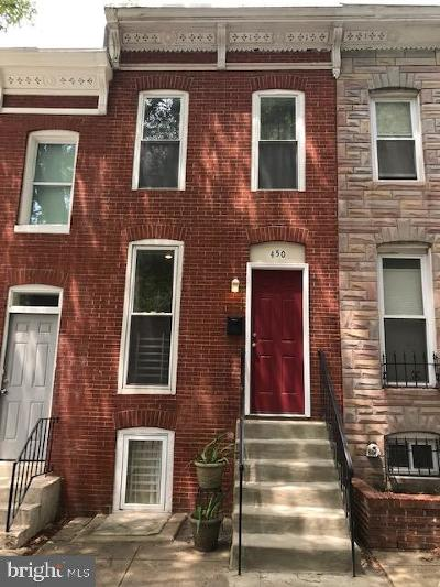 Baltimore Townhouse For Sale: 450 E Federal Street