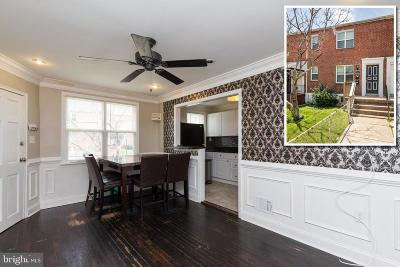 Baltimore Townhouse For Sale: 5324 Nelson Avenue
