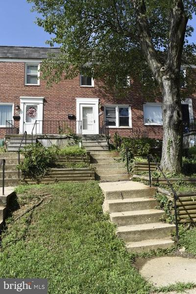 Baltimore Townhouse For Sale: 4317 Eldone Road