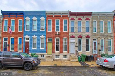 South Baltimore Townhouse For Sale: 1518 Clarkson Street