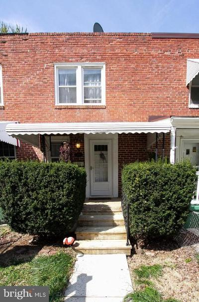 Hampden Townhouse For Sale: 3830 Elm Avenue