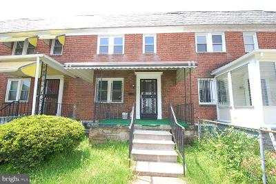 Pimlico Townhouse Under Contract: 5406 Clover Road