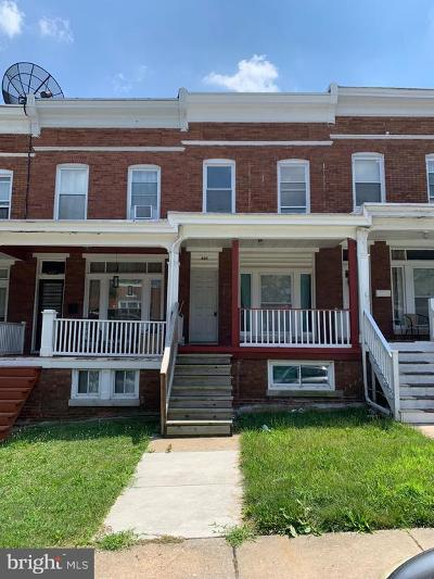 Baltimore Townhouse For Sale: 825 Belgian Avenue