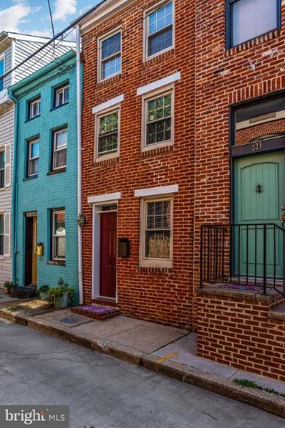 Baltimore Townhouse For Sale: 319 S Durham Street