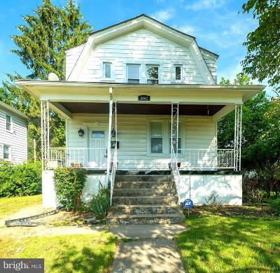 Baltimore Single Family Home For Sale: 3002 Howard Park Avenue
