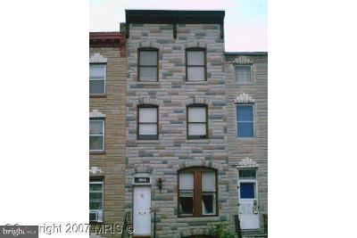 Baltimore Townhouse For Sale: 1004 W Lombard Street