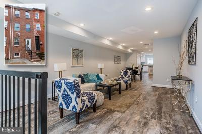 Butchers Hill Townhouse For Sale: 2205 E Fayette Street