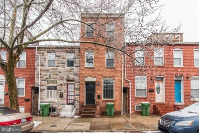 Baltimore Townhouse For Sale: 2326 Fleet Street