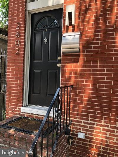 Baltimore Townhouse For Sale: 2602 Fait Avenue