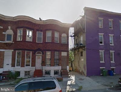 Mondawmin Townhouse For Auction: 1903 N Fulton Avenue