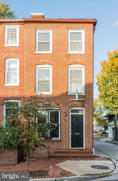 Baltimore Townhouse For Sale: 110 Scott Street