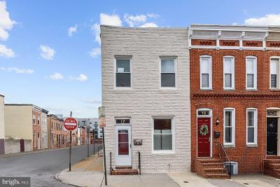 South Baltimore Townhouse For Sale: 17 E Heath Street