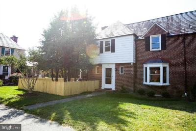 Baltimore City Rental For Rent: 305 Underwood Court