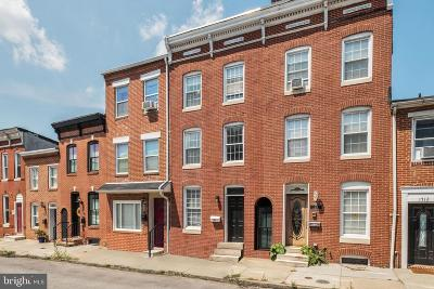 South Baltimore Townhouse For Sale: 1716 Light Street