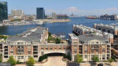 Baltimore City Rental For Rent: 801 Key Highway #P-36