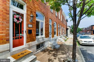 Baltimore Townhouse For Sale: 610 S Decker Avenue
