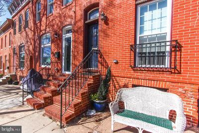 Upper Fells Point Townhouse For Sale: 2218 Gough Street