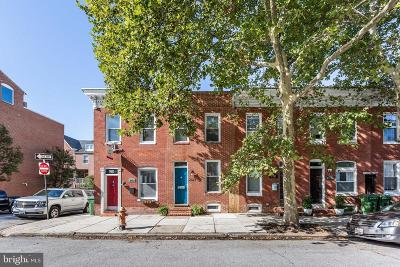 Baltimore City Townhouse For Sale: 2327 Essex Street