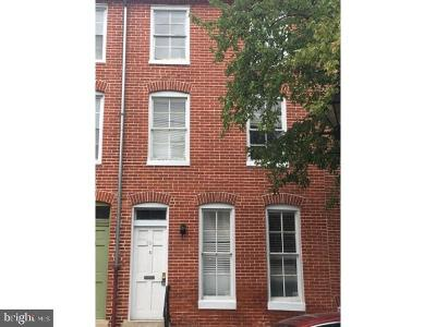 Baltimore Townhouse For Sale: 654 Portland Street