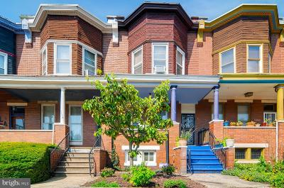 Baltimore Townhouse For Sale: 2728 Guilford Avenue