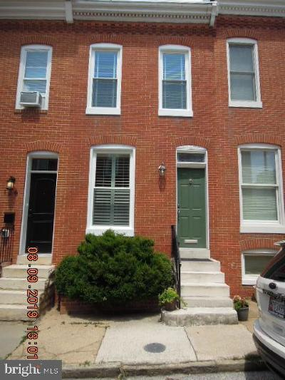 Baltimore Townhouse For Sale: 128 E Ostend Street