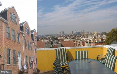 Baltimore City Townhouse For Sale: 705 Streeper Street S