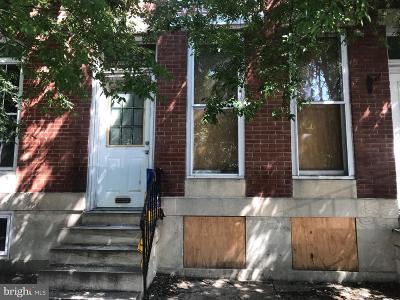 Patterson Park Townhouse For Sale: 2930 E Baltimore Street