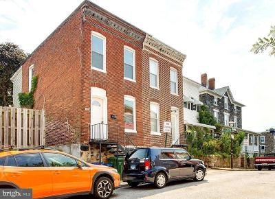 Hampden Townhouse For Sale: 3557 Buena Vista Avenue