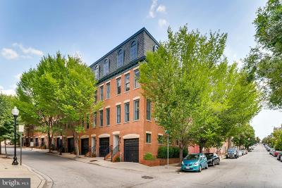 Baltimore Townhouse For Sale: 27 S Regester Street